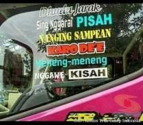 Kumpulan Tulisan lucu di kaca samping truk ....hehehe....gokil 2017 (24)