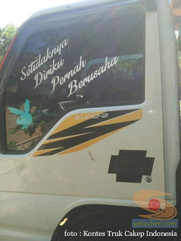 Kumpulan Tulisan lucu di kaca samping truk ….hehehe….gokil 2017 (25)
