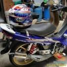 Nunggang motor bebek jadul tapi helm fullface, masalah buat elo (4)