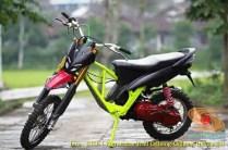 Kumpulan gambar motor trail basis motor matic alias trail matic (19)