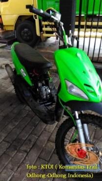 Kumpulan gambar motor trail basis motor matic alias trail matic (23)