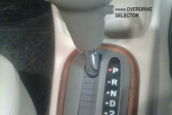 Kegunaan Overdrive Gear Dan Tombol O D Pada Tuas Transmisi Serta