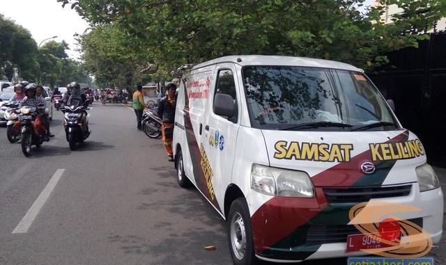 Pengalaman bayar pajak motor tahun 2017 di Samsat Keliling