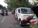 Pengalaman bayar pajak motor tahun 2017 di Samsat Keliling depan THR Surabaya (1)