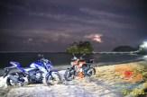 Suzuki GSX-S150 explorasi Pesisir Pantai Selatan Malang 2017 (2)