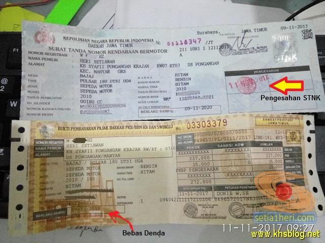 Kabar Gembira, Biaya Administrasi Pengesahan STNK dibatalkan oleh Mahkamah Agung