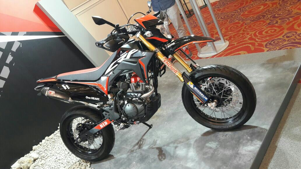 Modifikasi Trail Honda Crf150l Seperti Supermoto Setia1heri Com