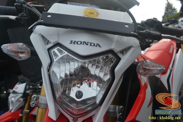 Gambar detail trail Honda CRF150L tahun 2017 (2)