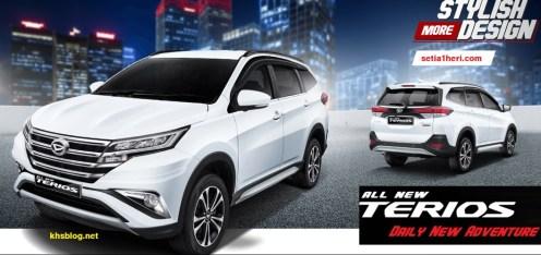 Harga, Spesifikasi dan Pilihan Warna mobil All New Daihatsu Terios tahun 2017