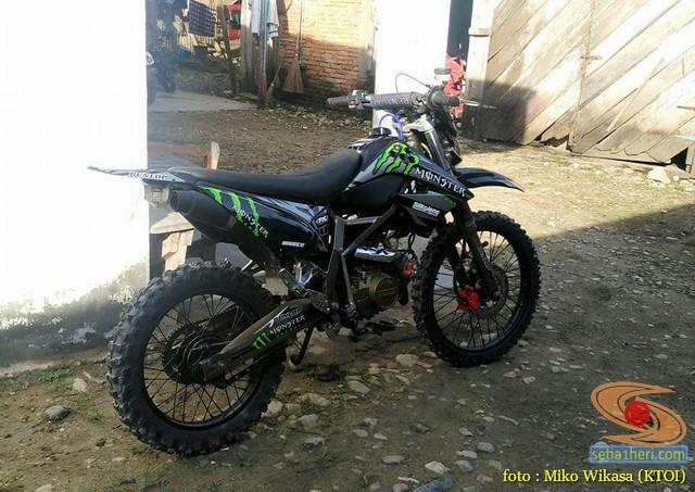 Cadas Modifikasi Honda Supra X Jadi Motor Trail Setia1heri Com