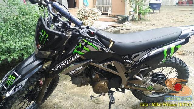 Modifikasi Honda Supra X Asal Aceh Jadi Motor Trail Setia1heri Com
