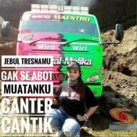 Ratu Nolayyyy Indonesia, Sopir Cantik dump truk asal Jember...salam 1A3P (3)