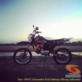 kumpulan foto honda win modifikasi trail cadass
