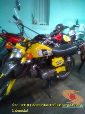 kumpulan foto honda win modifikasi trail ceper