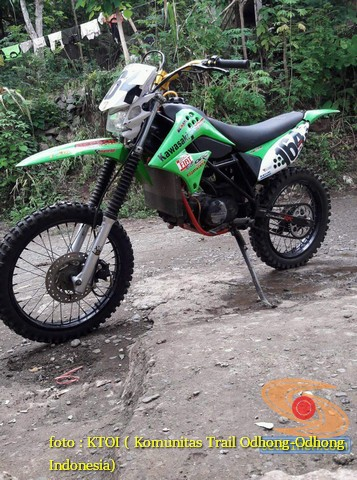 kumpulan foto modifikasi trail honda win