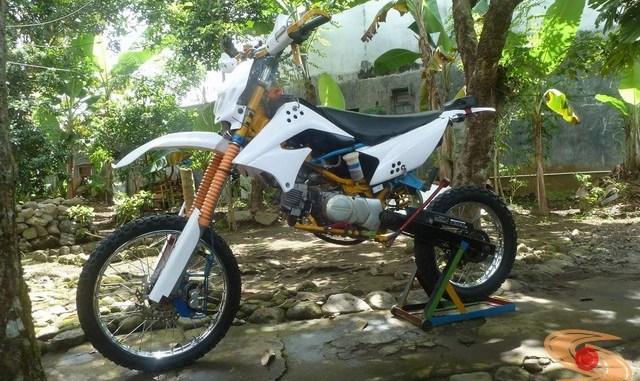 Kumpulan Foto Modifikasi Honda Win Jadi Motor Trail Setia1heri Com