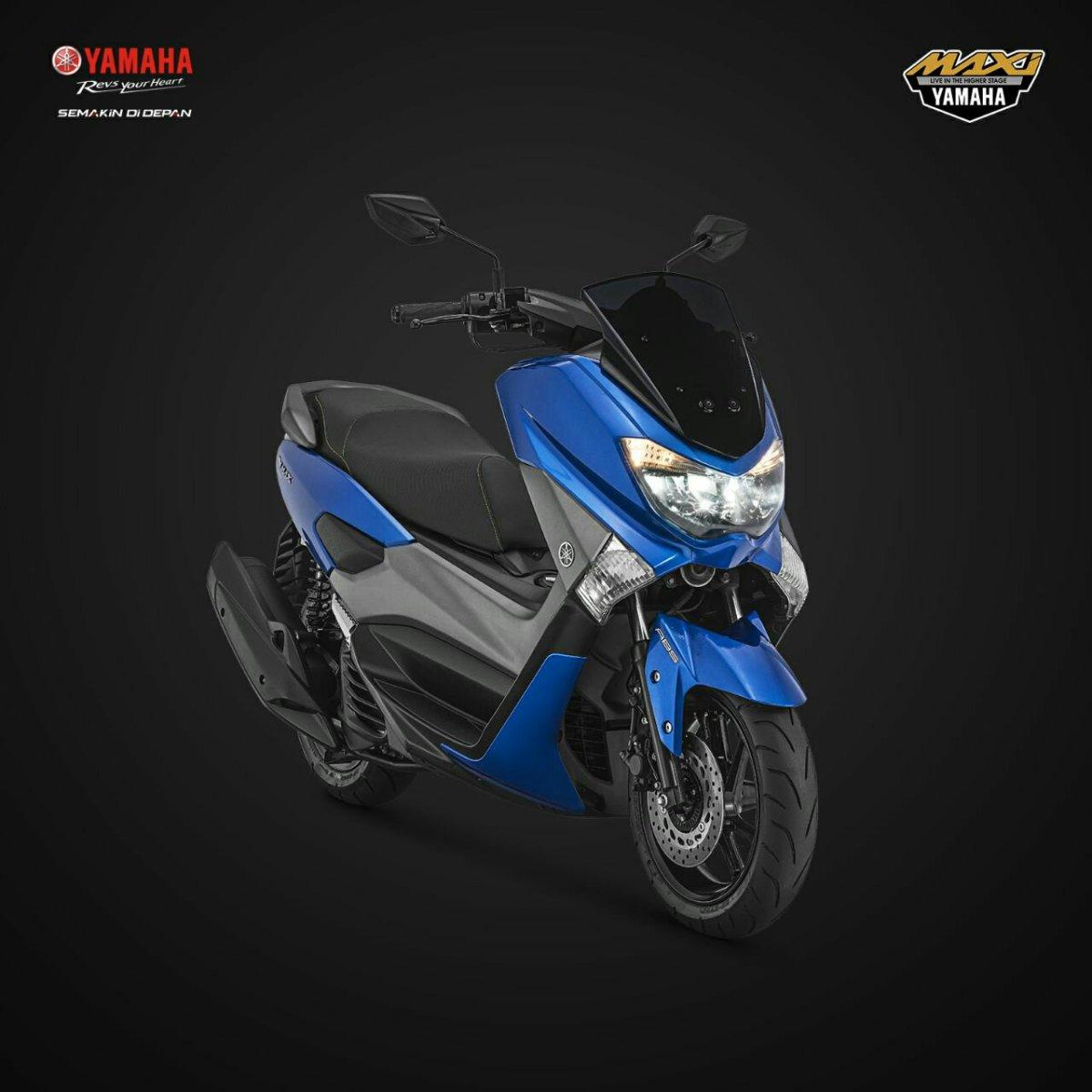 Spesifikasi, harga dan pilihan warna Yamaha NMAX model 2018