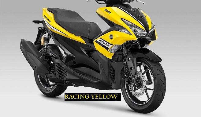 Warna Dan Harga Baru Yamaha Aerox 155 Vva Versi R Tahun 2018