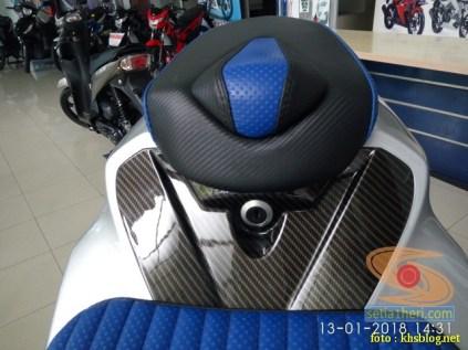 gambar detail Modifikasi sadis Suzuki GSX S 150 dari Kota Pahlawan tahun 2018 (19)