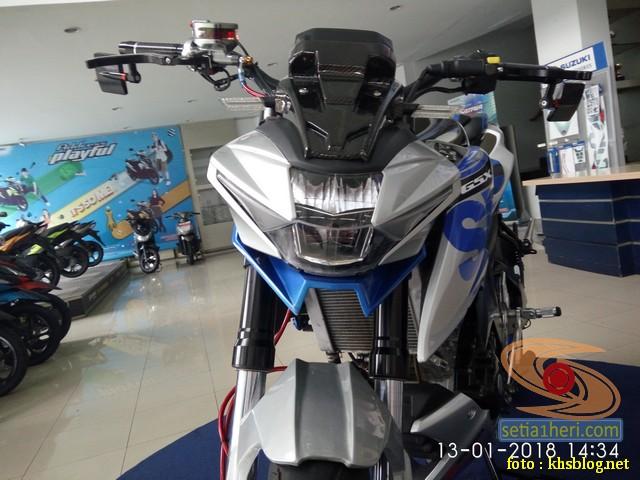 Modifikasi Sadis Suzuki Gsx S 150 Dari Kota Pahlawan Setia1heri Com
