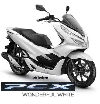 4 Pilihan Warna Honda PCX 150 asli Indonesia tahun 2018