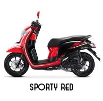 7 Pilihan warna dan stripping baru New Honda Scoopy tahun 2018 (2)