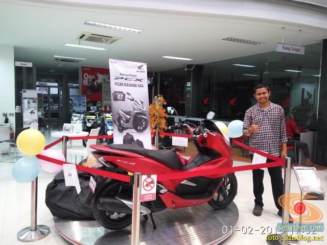 Lebih Dekat Dengan Honda Pcx 150 Lokal Indonesia Tahun 2018 Di