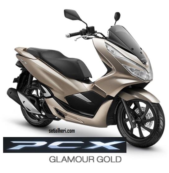 Pilihan Warna Honda PCX 150 asli Indonesia tahun 2018