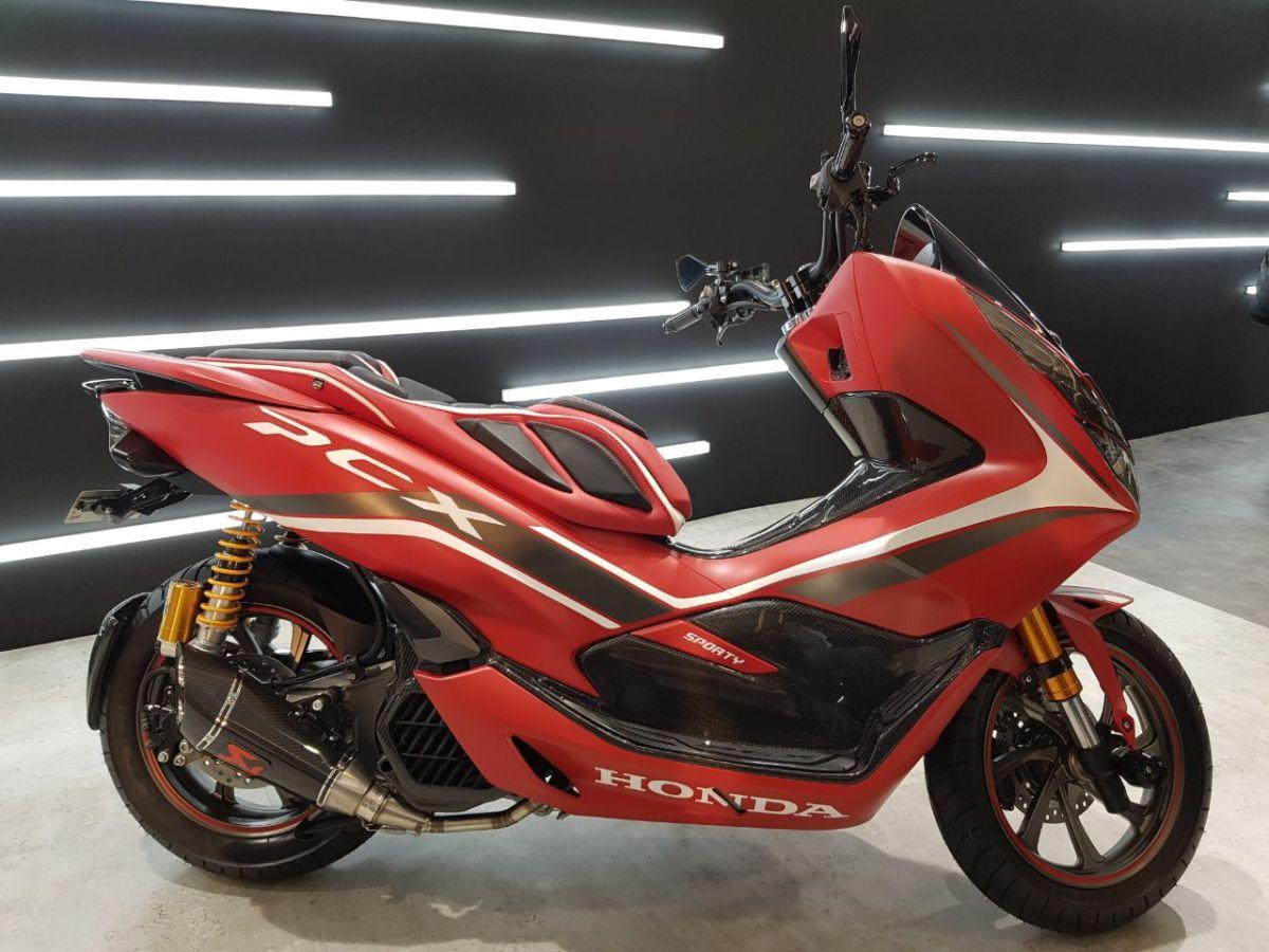 Estimasi Alias Prediksi Biaya Modifikasi Honda PCX Red Sporty