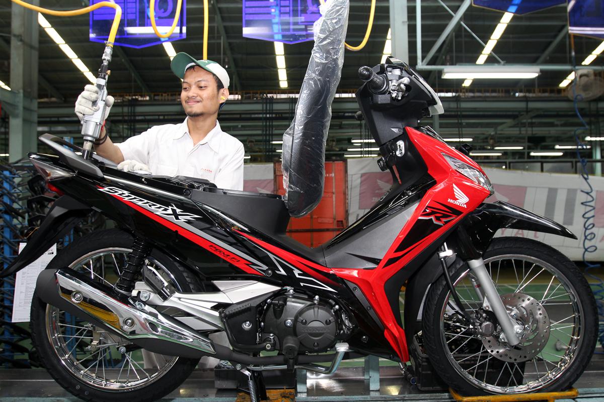 Tampilan Stripping Honda Supra X 125 Fi Tahun 2018 Gans Setia1heri Com
