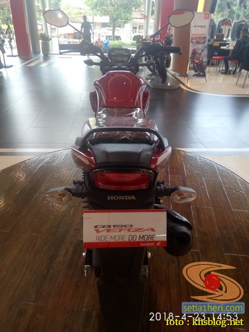 Harga Honda CB150 Verza di Kota Surabaya tahun 2018