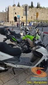 Kumpulan foto motor di sekitar Al-Aqsa, Palestina 7