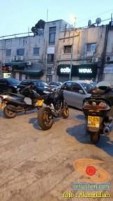 Kumpulan foto motor di sekitar Al-Aqsa, Palestina 8