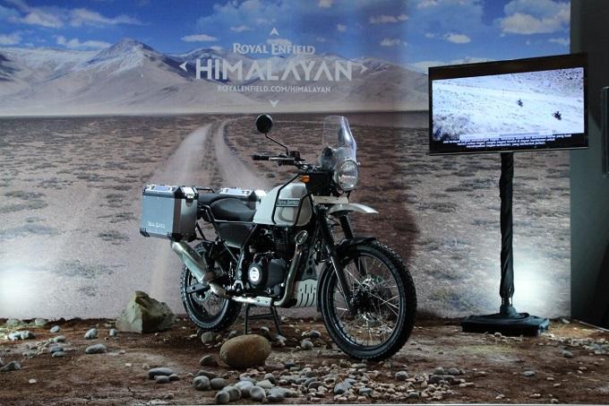 Motor Royal Enfield Himalayan dibanderol 93 jeti di Indonesia brosis...