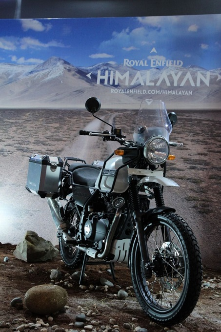Motor Royal Enfield Himalayan di Indonesia