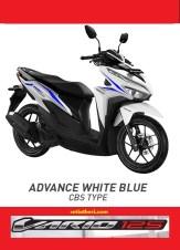 Pilihan warna putih biru Honda Vario 125 tahun 2018