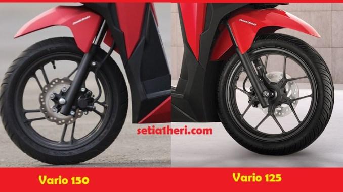 Perbedaan Honda Vario 150 Dan 125 Tahun 2018