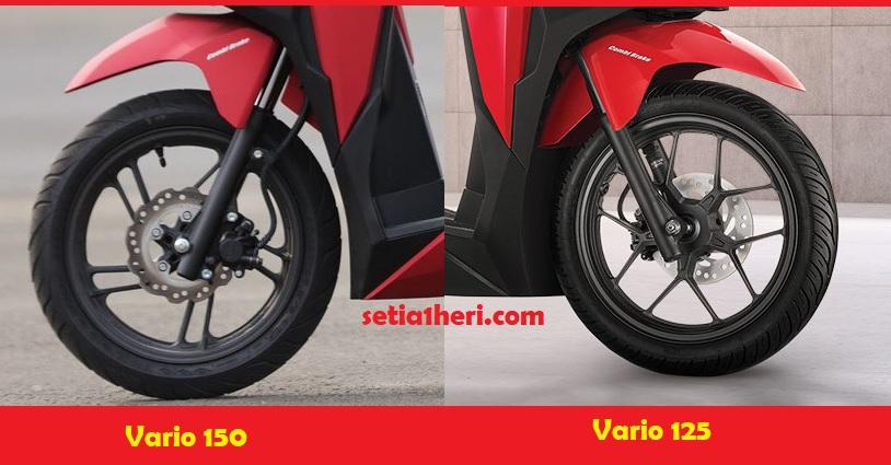 perbedaan honda vario 150 dan vario 125 tahun 2018