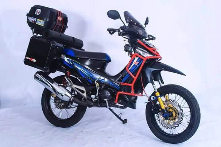 12 syarat modifikasi motor agar gak kena tilang dan legal di jalan raya, Monggo disimak gans..