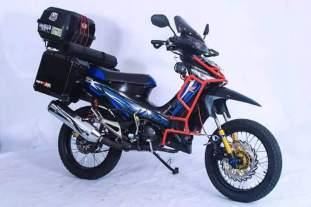 Inspirasi gambar modifikasi Honda Supra X 125 pakai tubular