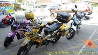 Kumpulan gambar modifikasi Honda Supra X 125 pakai teralis di bodi