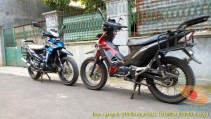 Kumpulan gambar modifikasi Honda Supra X 125 pakai teralis