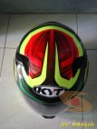 Review Helm KYT K2 Rider Super FLuo tahun 2018 (13)