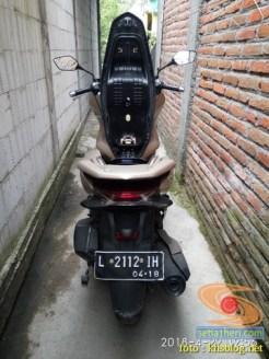 blogger setia1heri Ngincipi Honda PCX Indonesia wira-wiri Gresik-Surabaya tahun 2018 (8)