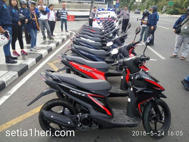 Harga Suzuki Nex II tahun 2018 di Jawa Timur