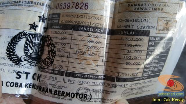 Inilah besaran pajak motor Yamaha Lexi di Jawa Timur tahun 2018 brosis