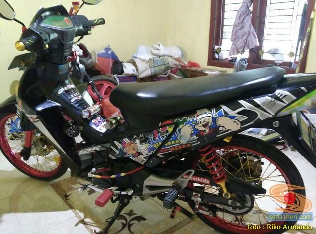 Rincian Harga Pernak Pernik Modifikasi Honda Supra X 125