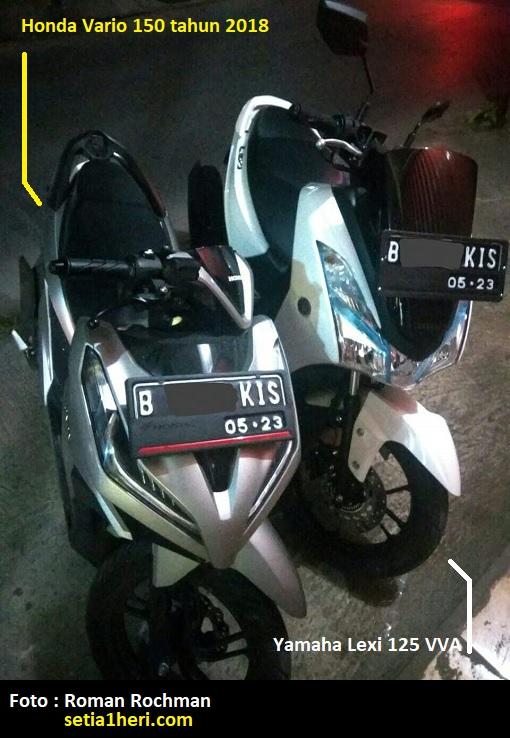 Perbandingan Yamaha Lexi dan Honda Vario 150