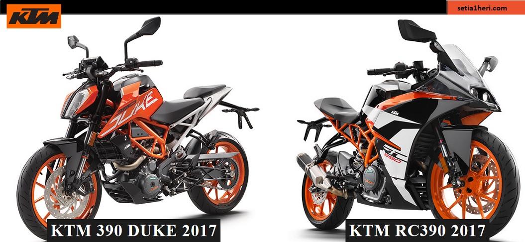 Daftar harga dan skema kredit motor KTM Duke dan RC series