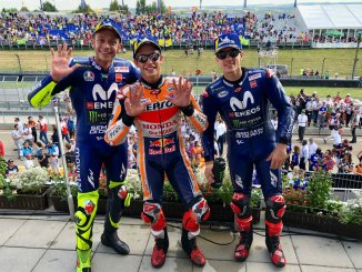 Hasil Moto GP Sachsenring, Jerman 2018 , Marquez King of the Ring, disusul Mbah Rossi dan Vinales